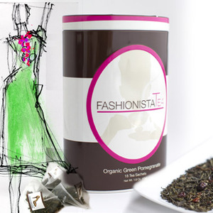 Organic Green Pomegranate from Fashionista Tea