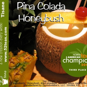 Pina Colada Honeybush from 52teas