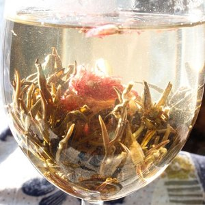 Flowering Green Jasmine Tea from Verdant Tea