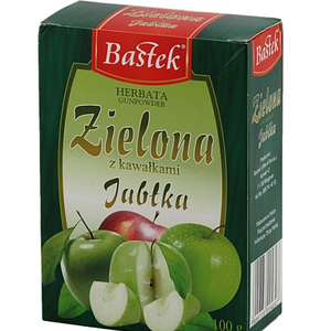 Gunpowder Green Tea with Apple from Bastek