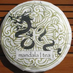 Mandala Year of the Dragon Ripe Pu'er -2012 from Mandala Tea