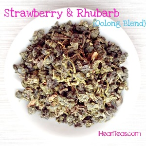Strawberry &amp; Rhubarb {Oolong Blend} from iHeartTeas