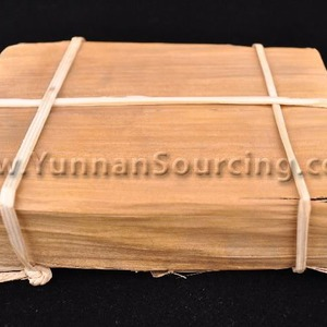 2005 Bamboo Wrapped Brick * Ripe Pu-erh tea from Dehong from Yunnan Sourcing