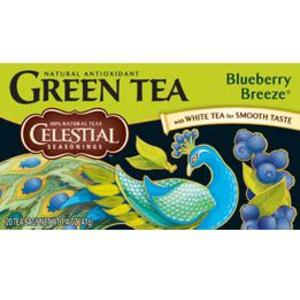 Blueberry Breeze Green Tea from Celestial Seasonings