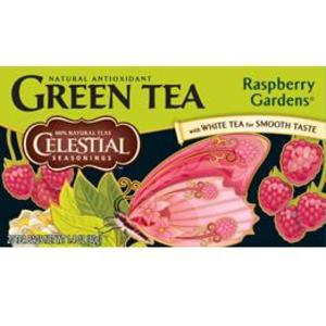 Raspberry Gardens Green Tea from Celestial Seasonings