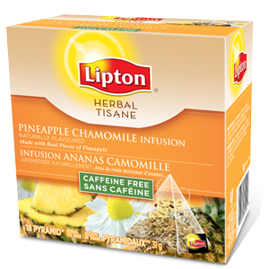 Herbal Pineapple Chamomile Infusion from Lipton