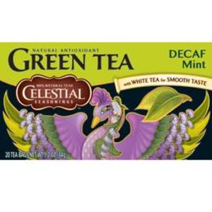 Mint Green Tea (Decaf) from Celestial Seasonings