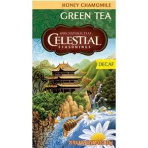 Honey Chamomile Green Tea (Decaf) from Celestial Seasonings