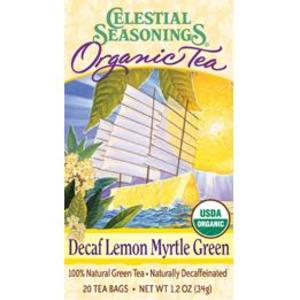 Lemon Myrtle Organic Green Tea (Decaf) from Celestial Seasonings