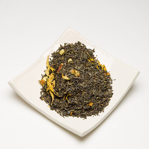 Sweet Orange Green Tea from Satya Tea