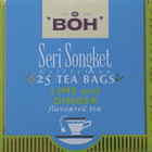 Lime and Ginger flavoured tea from BOH Seri Songket