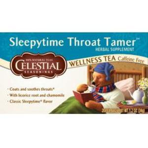 Sleepytime Throat Tamer Wellness Tea from Celestial Seasonings