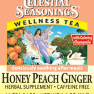 Honey Peach Ginger Wellness Tea from Celestial Seasonings