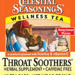 Throat Soothers Wellness Tea from Celestial Seasonings
