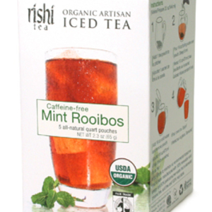 Mint Rooibos Iced Tea from Rishi Tea