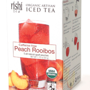 Peach Rooibos Iced Tea from Rishi Tea