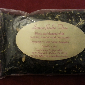 Snowflake Tea from Camellia's Sin Tea Parlor