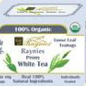 Premium Peony White Tea from Raynies