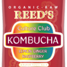 LEMON GINGER RASPBERRY KOMBUCHA from REED'S