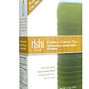 Genmai Green Tea from Rishi Tea