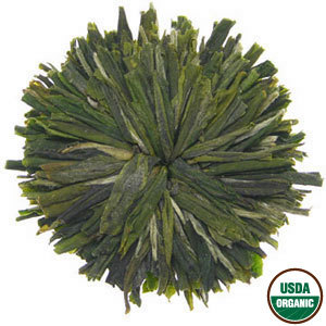 Green Peony Rosette from Rishi Tea