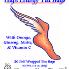 High Energy from Eastern Shore Tea Company