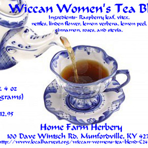 Wicca Women's Tea Blend from Home Farm Herbery