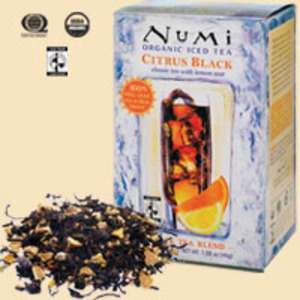 Citrus Black Organic Iced Tea from Numi Organic Tea