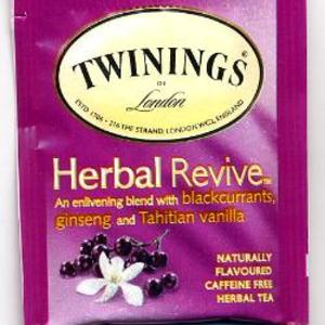 Herbal Revive Tea from Twinings