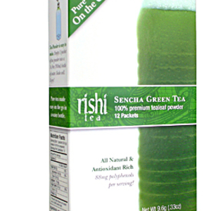 Sencha Green Tealeaf Powder from Rishi Tea
