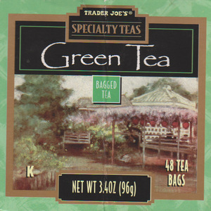 Green Tea from Trader Joe's