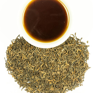 Puerh (Pǔ'ěr/普洱) - Shang/Raw/10 Yr Aged from The Hong Kong Tea Co.