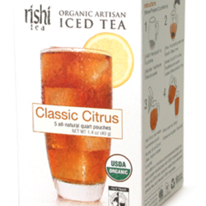 Classic Citrus Iced Tea from Rishi Tea