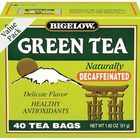 Green Tea Decaf from Bigelow