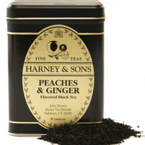 Peaches & Ginger from Harney & Sons