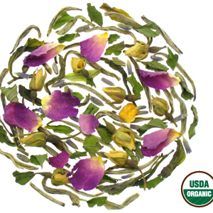 White Tea Rose Mélange from Rishi Tea