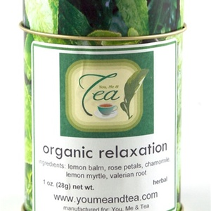 Organic Relaxation from You, Me & Tea