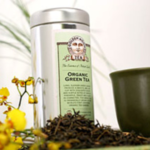 Organic Green Tea from Golden Moon Tea