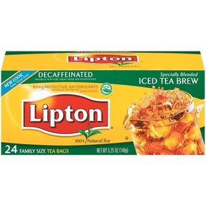 Decaffeinated Iced Tea from Lipton