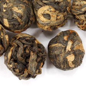 Black Dragon Pearls from Adagio Teas