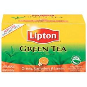 Orange, Passionfruit & Jasmine Green from Lipton