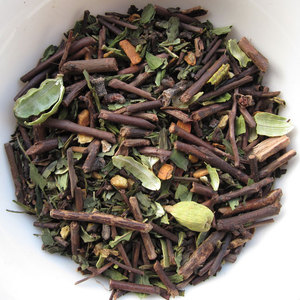 Mint Kukicha Masala Chai from Yogic Chai