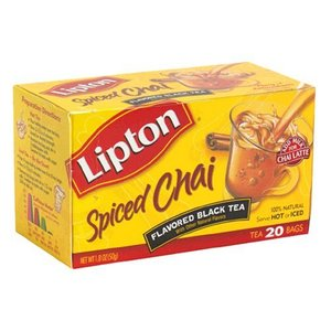 Spiced Chai from Lipton