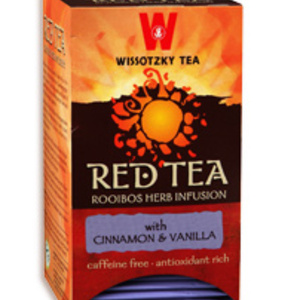 Red Tea - Cinnamon &amp; Vanilla from Wissotzky Tea