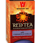 Red Tea - Cinnamon & Vanilla from Wissotzky Tea