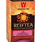 Red Tea with Rose Hip and Passion Fruit from Wissotzky Tea