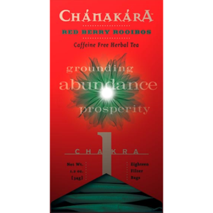 Chanakara Collection: Chakra #1 Red Berry Rooibos from Stash Tea Company