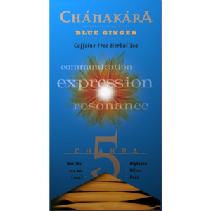 Chanakara Collection: Chakra #5 Blue Ginger from Stash Tea Company