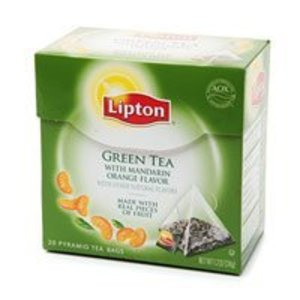 Green Tea with Mandarin Orange from Lipton
