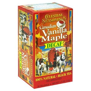 Vanilla and Canadian Maple from Celestial Seasonings